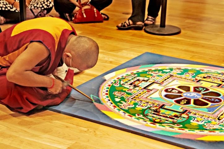Buddhist Mandala Julie-Plevak